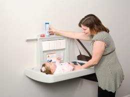 Rubbermaid Folding Baby Changing Unit