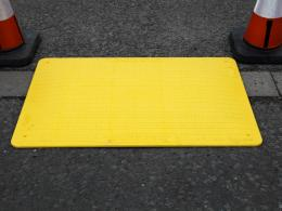 Road plate trench cover