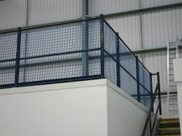 Mezanine Rail Netting