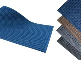One of the best recycled rubber reception mats available