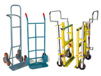 Sack trucks, stair climbers and furniture movers