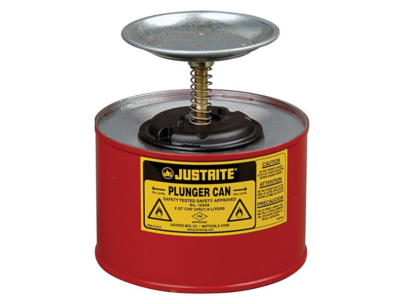 Steel Plunger Can 2L