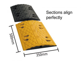3.35m Speed Bump Kit - 10mph
