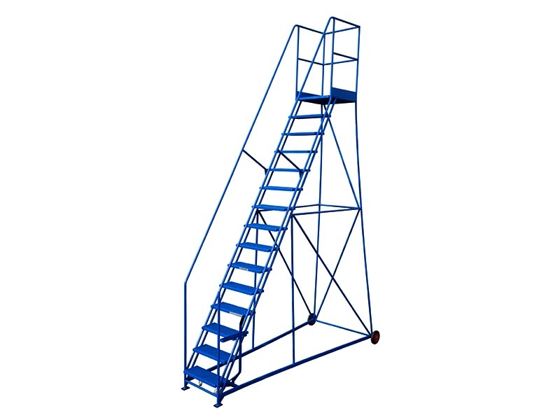 15 Tread 3429mm High Safety Steps