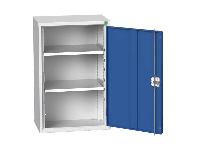 Freestanding Workshop Cupboard with 2 Shelves (900 x 525 x 350)
