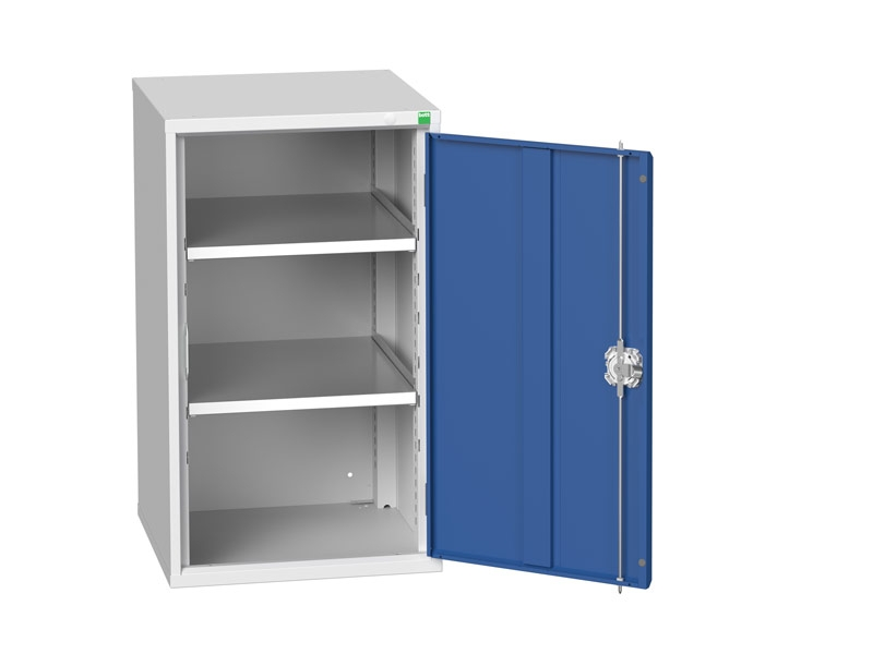 Freestanding Workshop Cupboard with 2 Shelves (900 x 525 x 550)