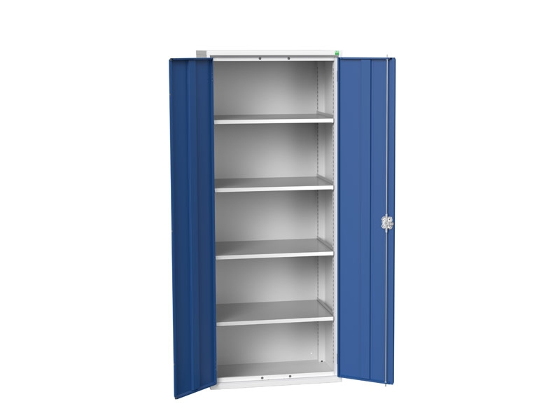 Freestanding Workshop Cupboard with 4 Shelves (2000 x 800 x 550)