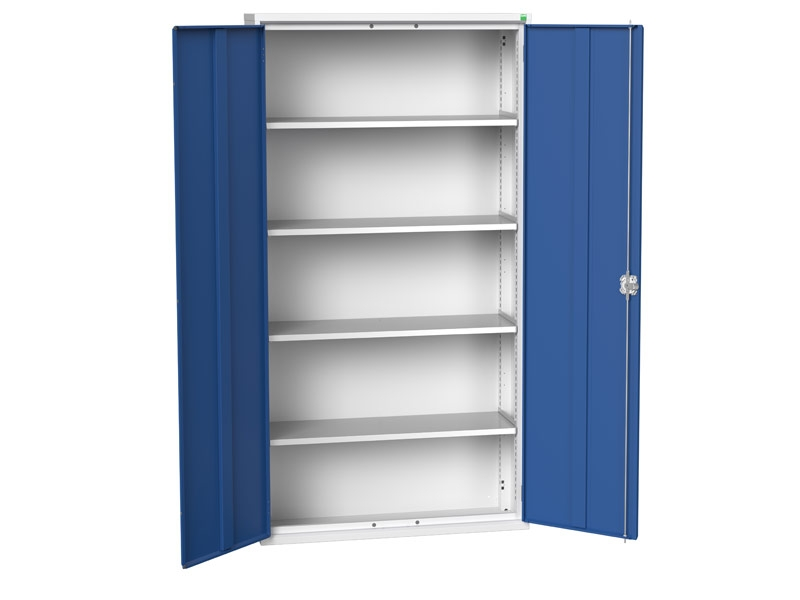 Freestanding Workshop Cupboard with 4 Shelves (2000 x 1050 x 350)