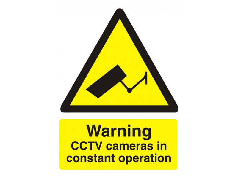 Buy Cctv Signs Free Delivery
