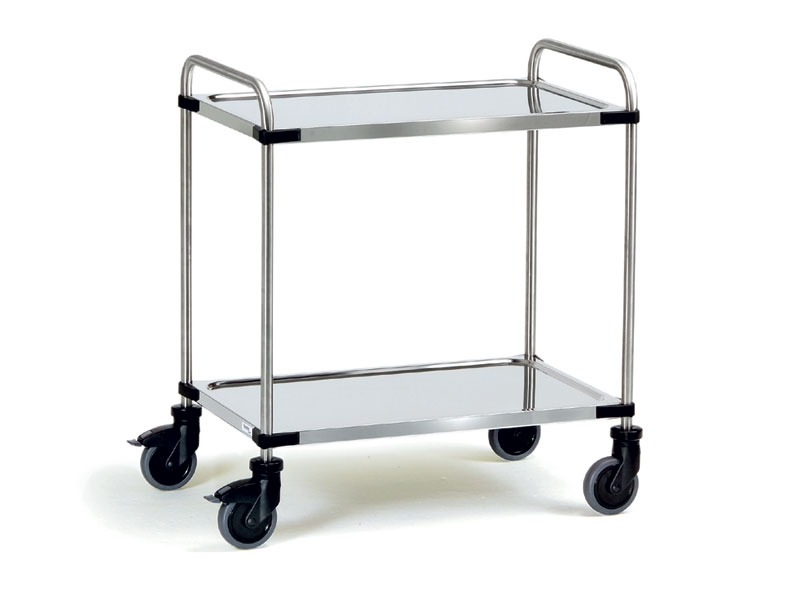Modular Stainless Steel Office Trolley