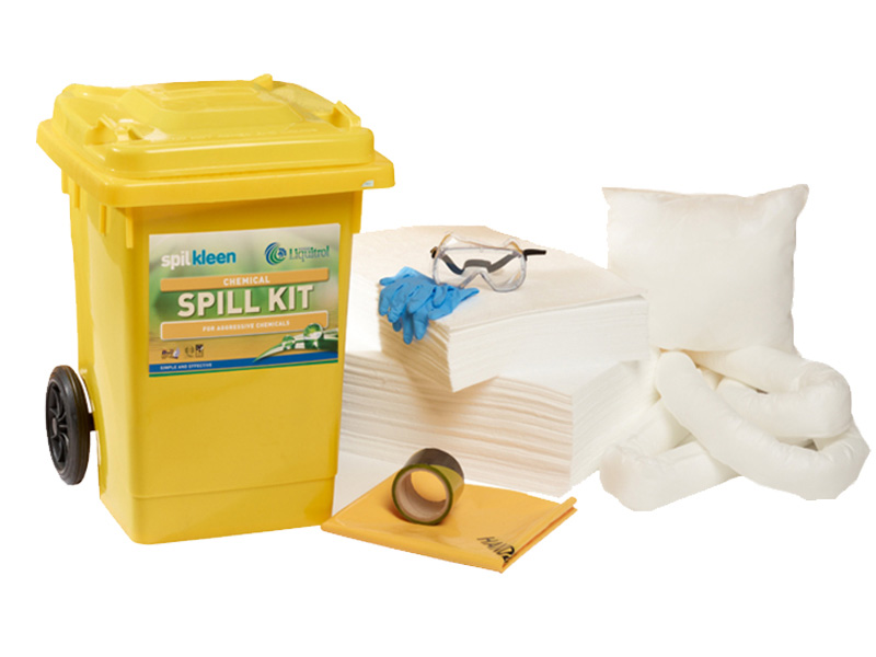 80 Litre Chemical Spill Kit