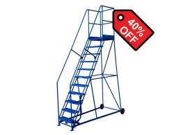 11 Tread 2515mm High Safety Steps