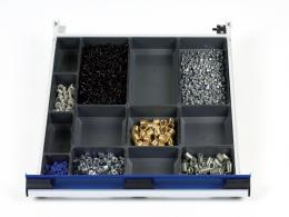 650mm Wide 13 Compartments, Plastic