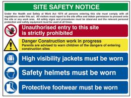 Mandatory/Site Safety Signs