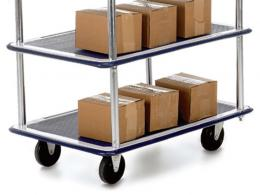 Lightweight 3 Shelf Trolley