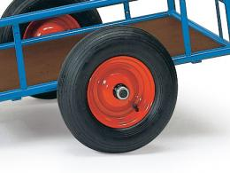 2 Wheel T-Bar Handle Platform Cart