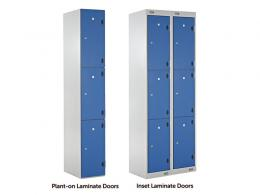 3 Door Laminate Locker
