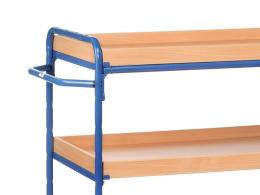 Three Shelf Tray Trolley