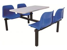 4 Seater Canteen Furniture