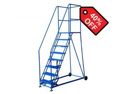 8 Tread 1829mm High Safety Steps