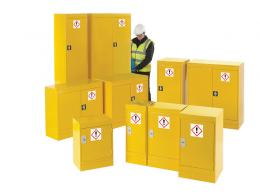 Hazardous Substance cupboards for the hazmat workplace