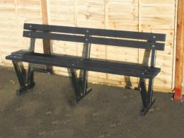 Adult Bench with Back