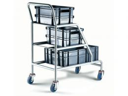 Angled Picking Trolley