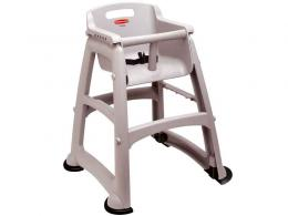 Baby high seat and sturdy chair