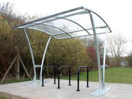 Bentham Cycle Shelter