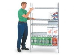 Chrome Kitchen Shelving