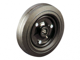 Cushion Tyre Pressed Steel Centre Wheels