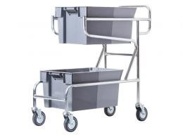 Order Picking Trolley - 2 shelves