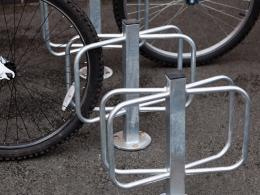 Double Ground Fixing Cycle Holder