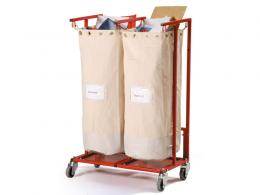 Mobile sack holder