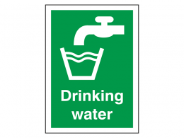 """Drinking Water"" First Aid Sign"
