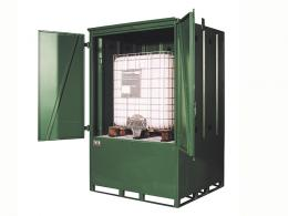 IBC intermediate bulk container storage unit