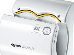 Poly Carbonate Dyson Airblade Hand Dryer White