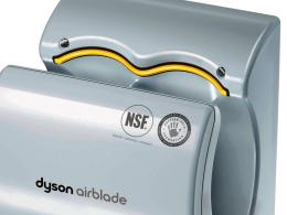 Poly Carbonate Dyson Airblade Hand Dryer Grey