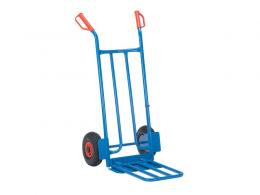 Economy Pneumatic Tyred Folding Toe Truck