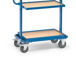 Euro Fixed Shelf Container Trolley