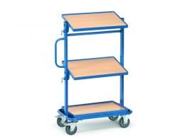 Euro Tiltable Shelf Container Trolley