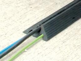 Cable protectors are often cheaper to buy than hire.