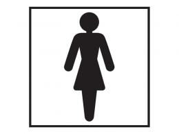 Female Washroom Sign