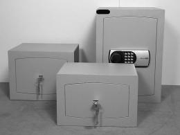 Fire Resistant Key Lock Mini Vault