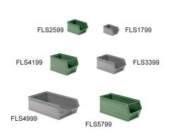 Stackable Metal Small Parts Bin - small galvanised bin