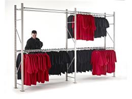 Longspan Garment Racking