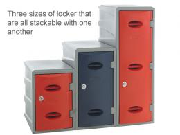 General Plastic Lockers