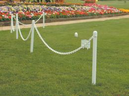 Plastic Ground Mounting Post/Stake