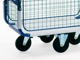 outdoor postal style trolleys