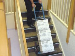 Heavy Duty Stair Climber on Stairs